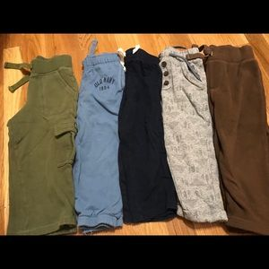 Lot of 5 pair of pants size 2t